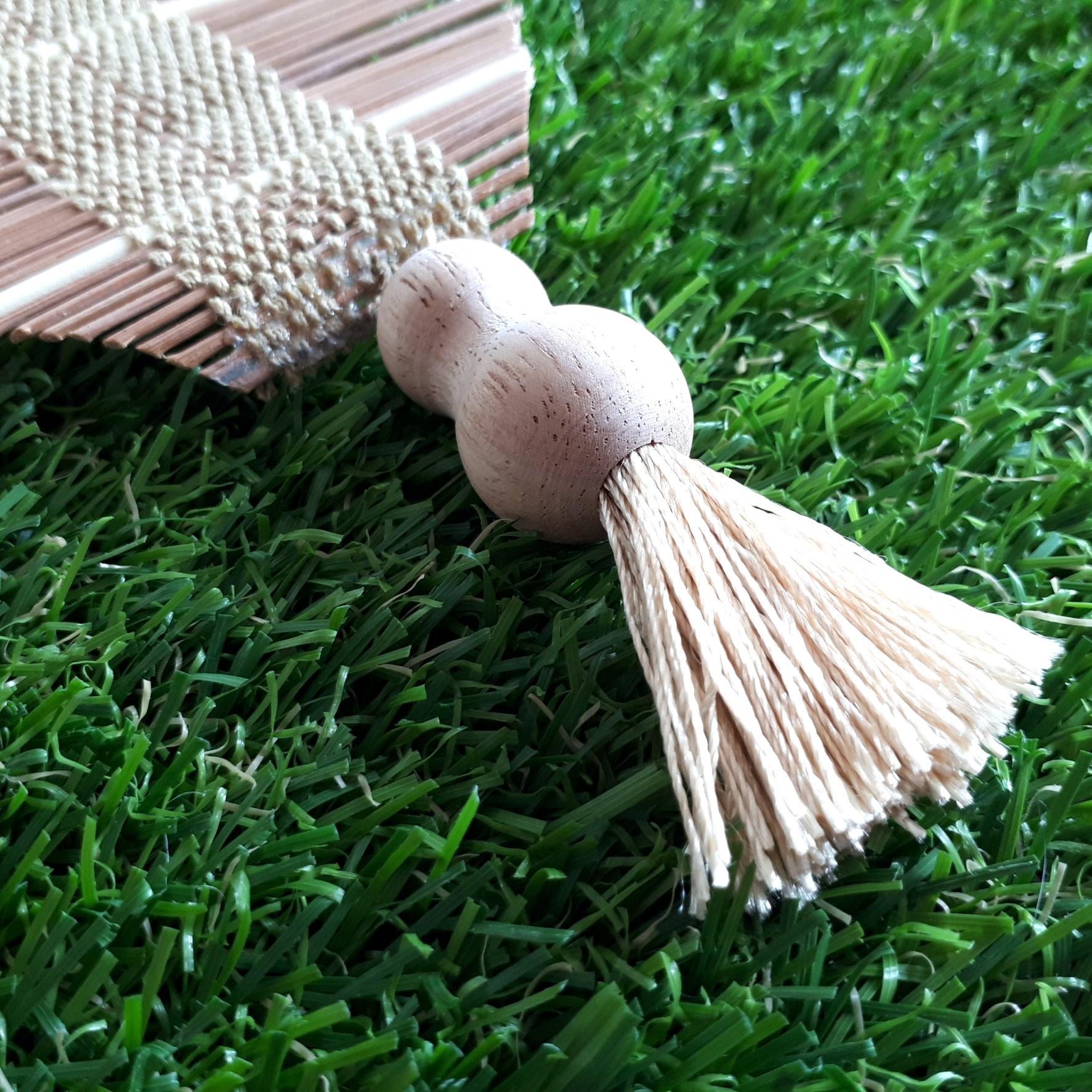 Image de Décoration mobile à suspendre en bambou sans carillon