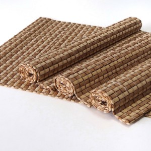 Picture of Bamboo Placemats Set of 4, Eco-Friendly Table Mats 40x30cm - Mixed Natural