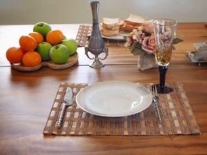 Image de Set de table en bambou (lot de 4) écologiques 40x30cm