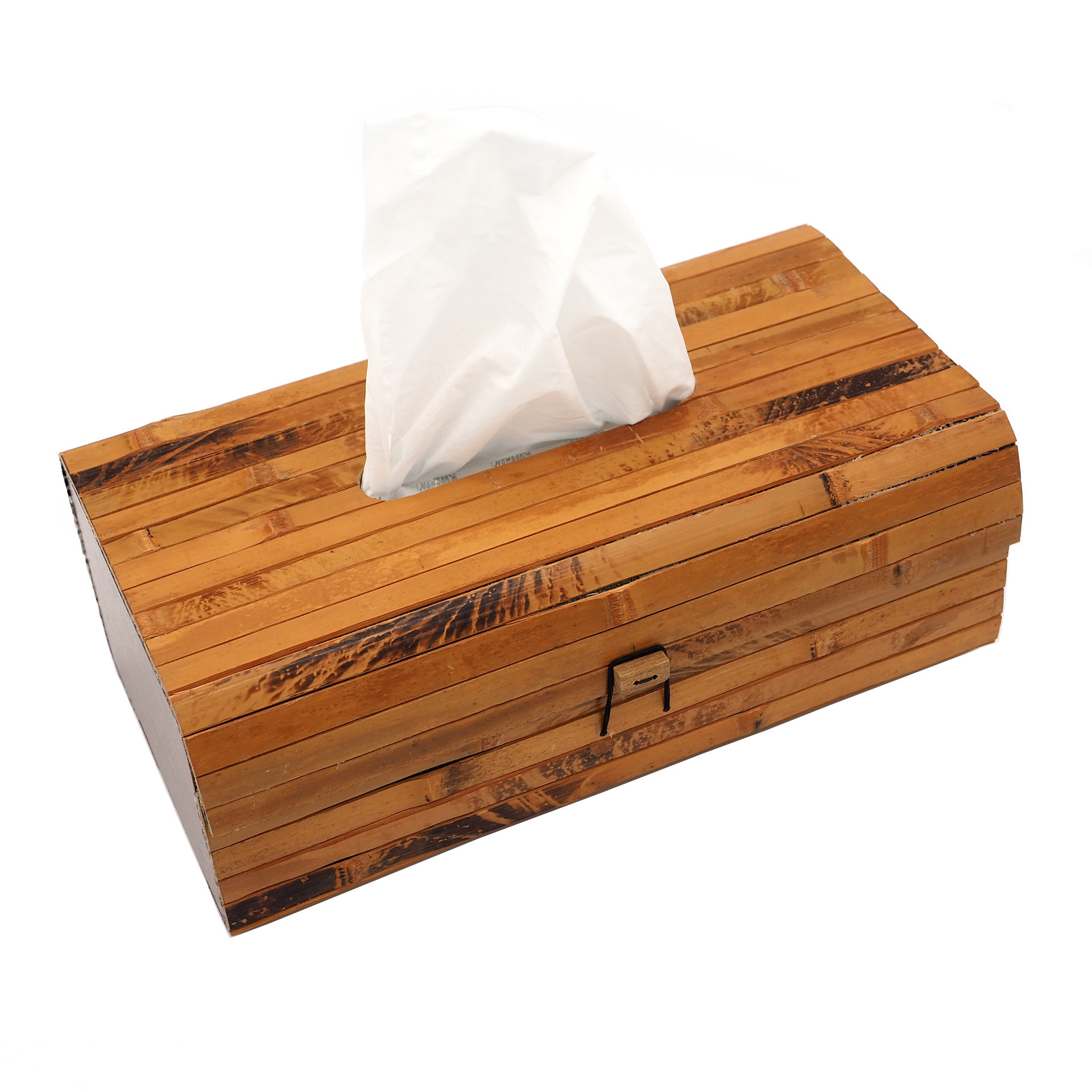 Picture of Bamboo Tissue Box Cover, Rectangular Boutique Container