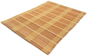 Bild von Bamboo Placemats Set of 4, Eco-Friendly Table Mats 40x30cm - Thin Natural
